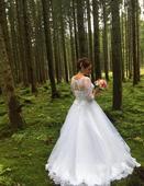 Svadobné šaty 40-46 (Eva Utkina), 42