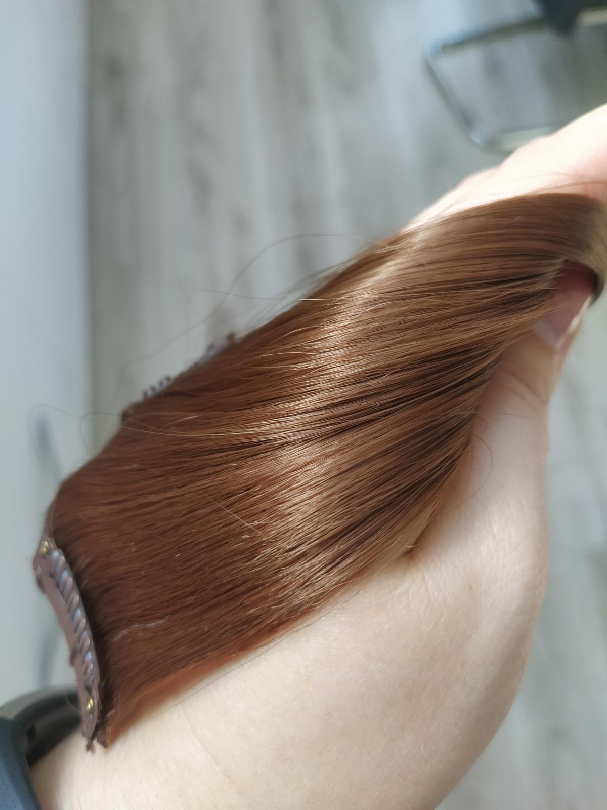 Clip in thermo vlasy 7 dielna sada - Obrázok č. 1
