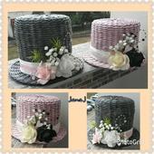 Svadobné klobúky,