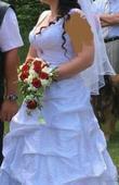 svatební korzet. šaty, 40