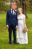 Těhotenské svatební šaty , 40
