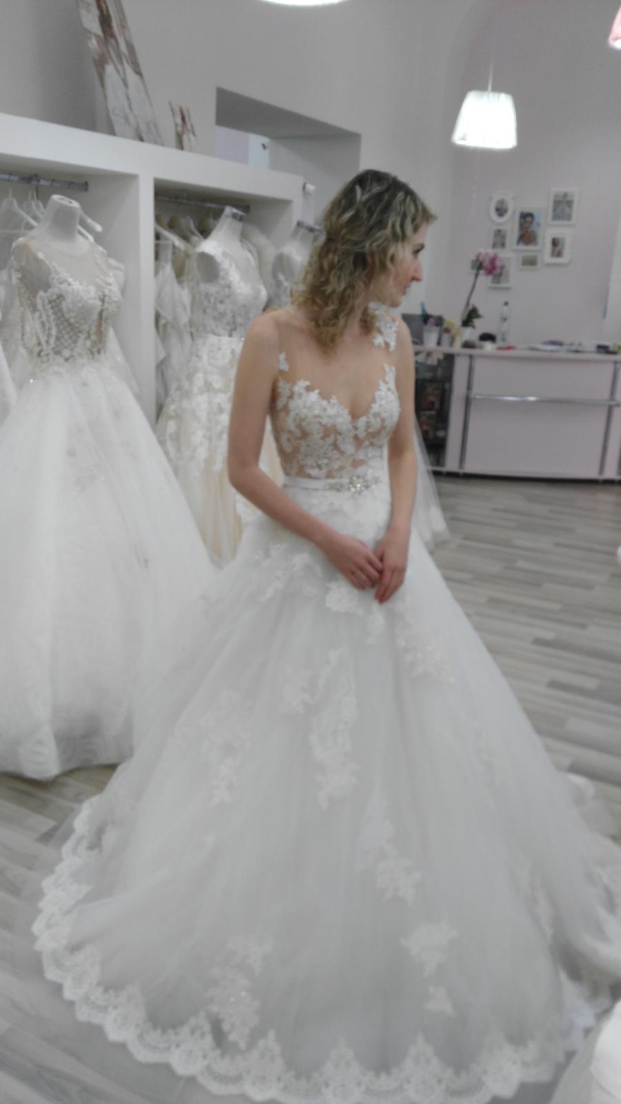 21c3df3ea07 Svatební šaty Jeneva od MillaNova - - Svatební ša...