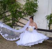 Svatební šaty, značka Mori Lee, vel. 16, 42