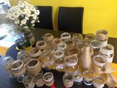 Vázy zdobené jutou,