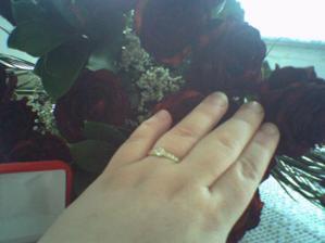 tak to všechno začalo a byla jsem požádaná o ruku 25.11.2008 :-)