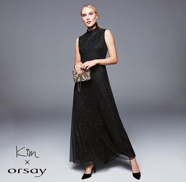Čierne trblietavé šaty - Obrázok č. 1