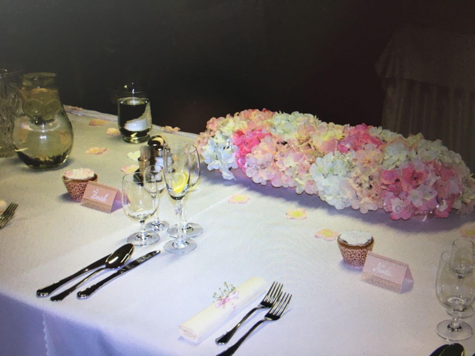 Svadobné kytice z umelých hortenzií - Obrázok č. 3