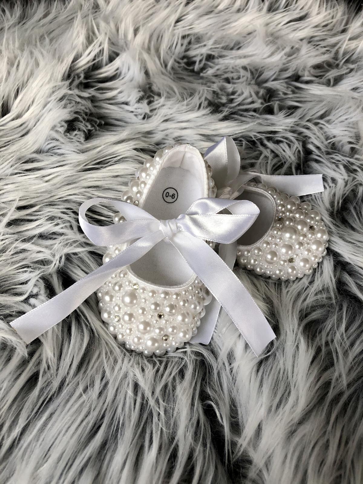 Perličkové topánočky pre malú princeznú - Obrázok č. 1