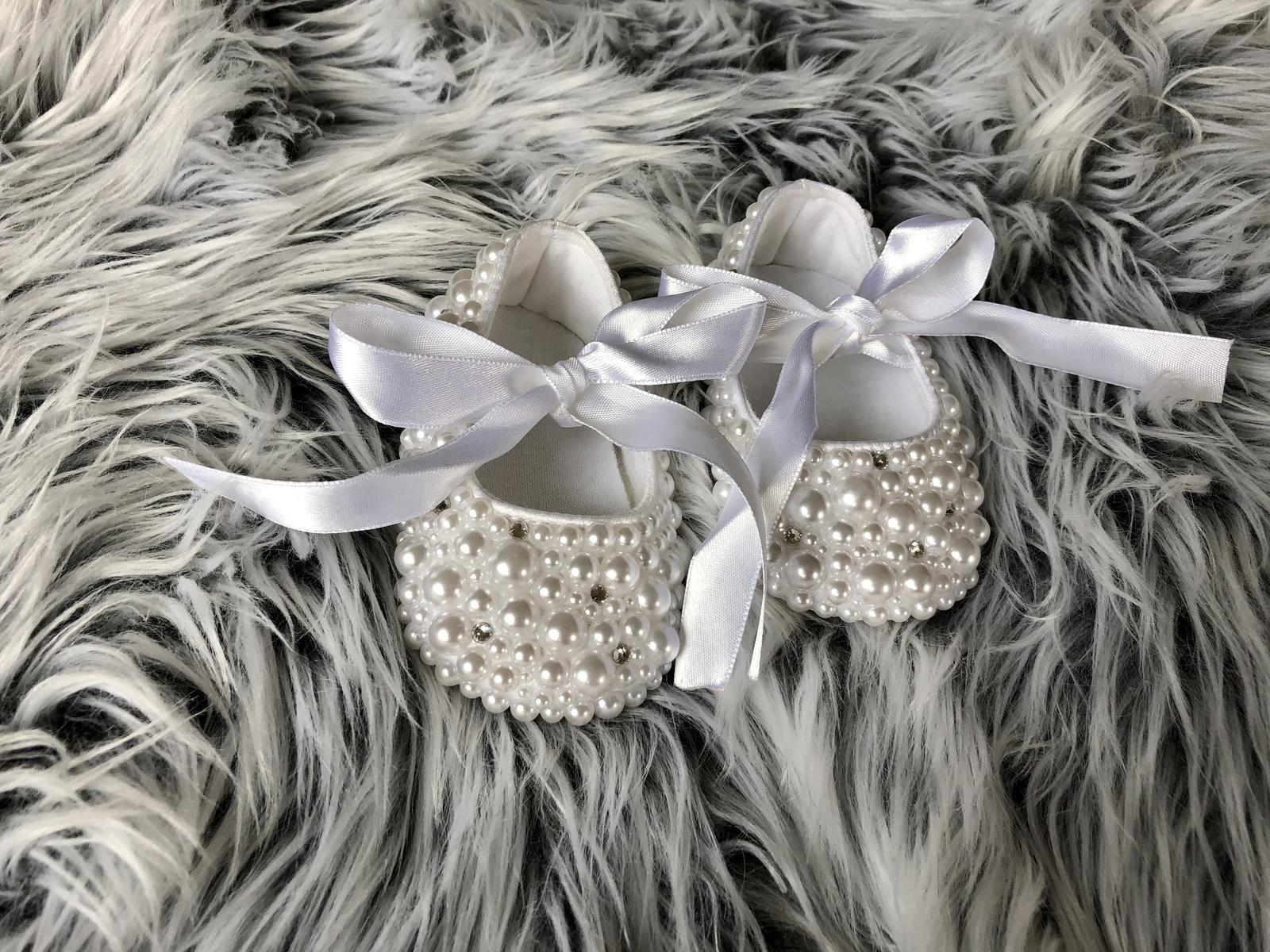 Perličkové topánočky pre malú princeznú - Obrázok č. 2