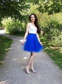 Tylová tutu sukně kolová, tulle skirt, M