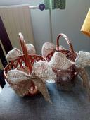 Pletené košíčky,