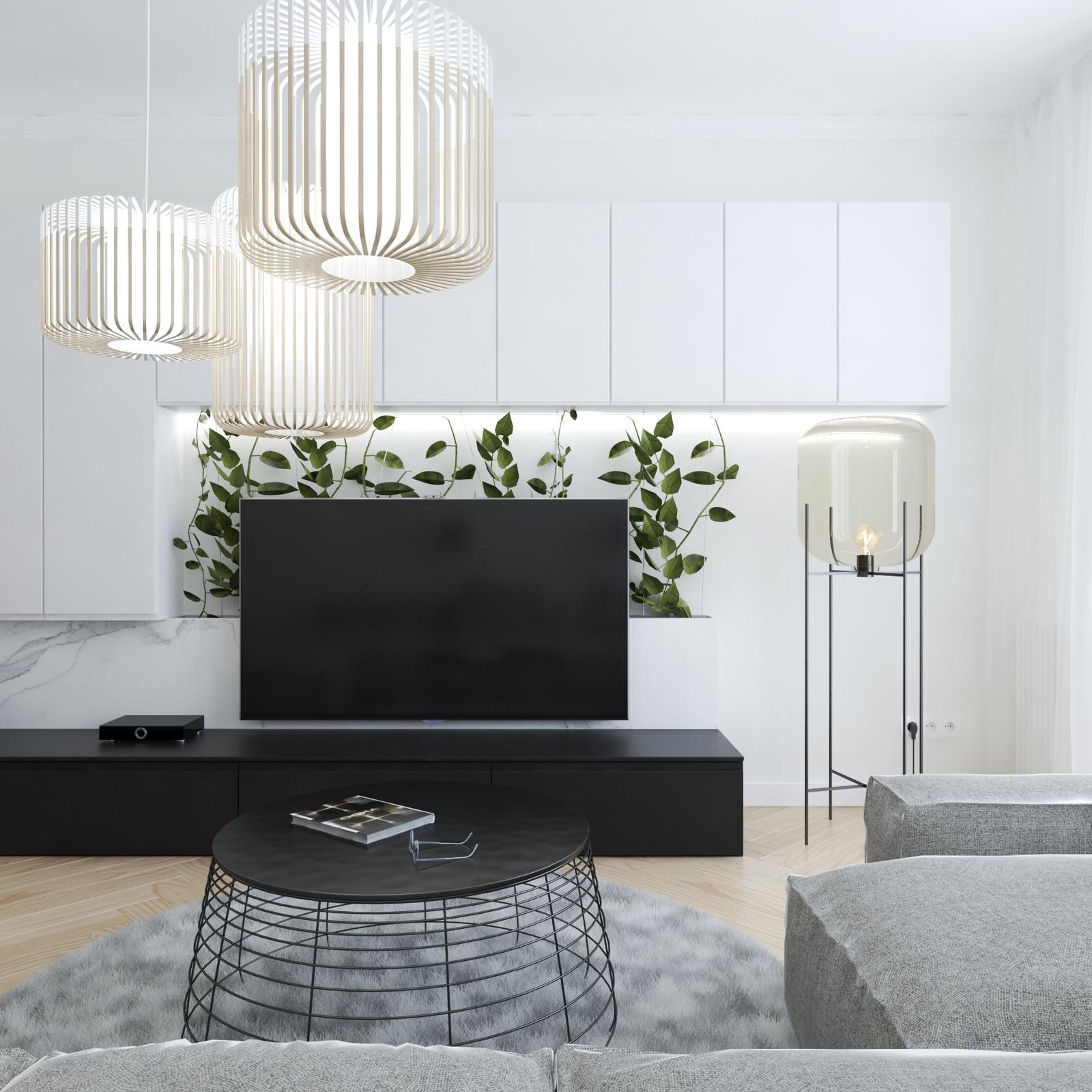 Dizajnovy návrh jednoizboveho bytu - Obrázok č. 1