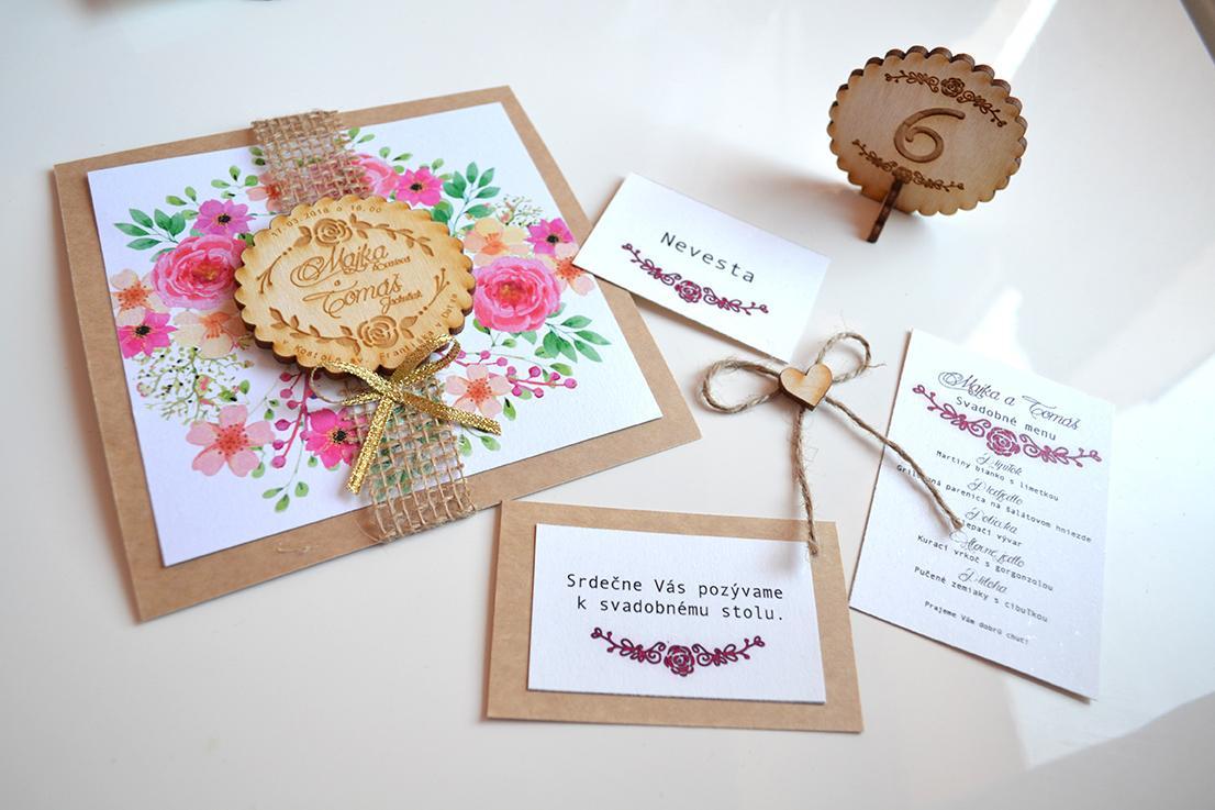 gl_spol_sro - Drevené svadobné oznámenia - sety
