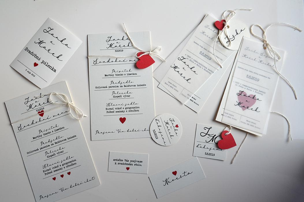 gl_spol_sro - Klassic svadobné oznámenia - sety