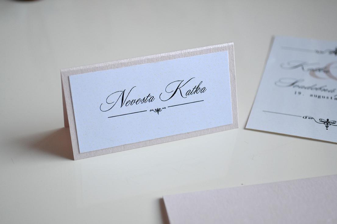 Svadobné oznámenie grácia ružová - Obrázok č. 4