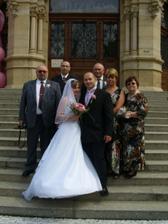 s manželovou rodinou:o)