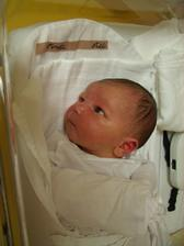 naše štěstíčko čerstvě po narození:-) listopad 2009