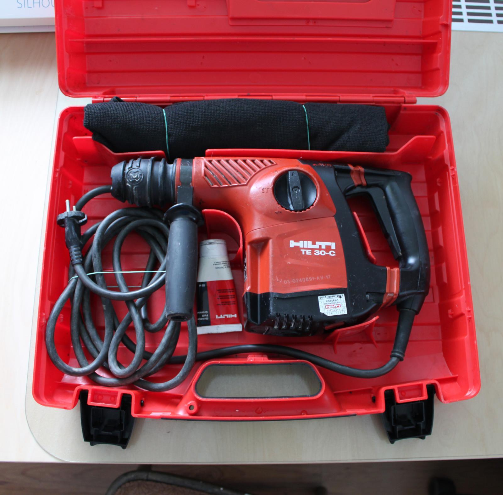 HILTI TE 30-AVR Výkonné vŕtacie kladivo SDS Plus  - Obrázok č. 1
