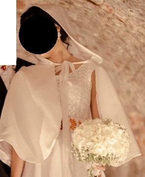 Svadobné bolerko, prehoz, pelerína - Obrázek č. 1