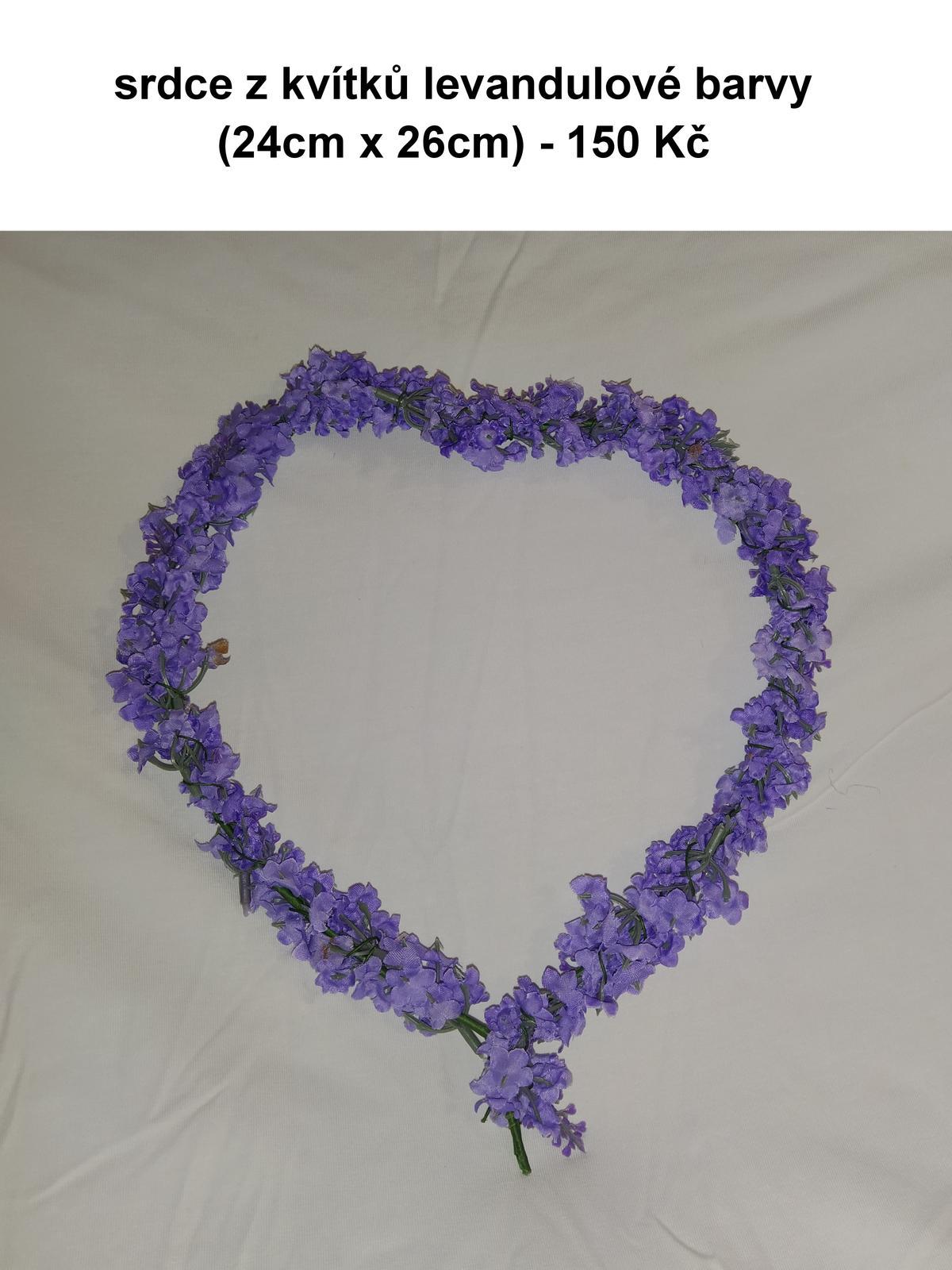 Levandulové srdce - Obrázek č. 1