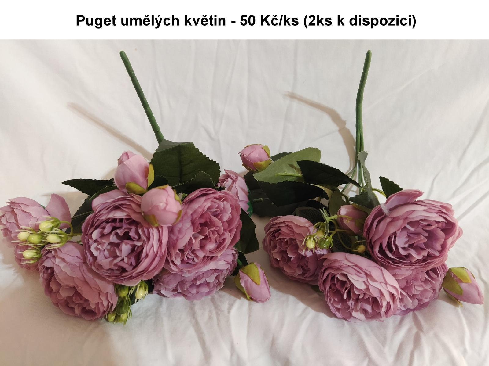 Umělá kytice - Obrázek č. 1