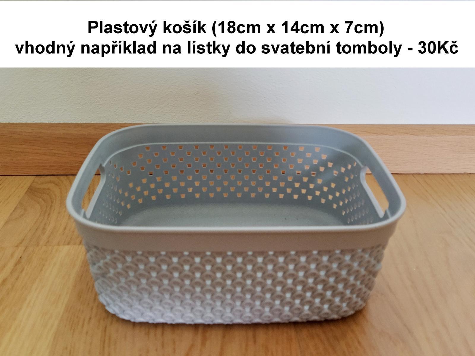 Plastový košík - Obrázek č. 1