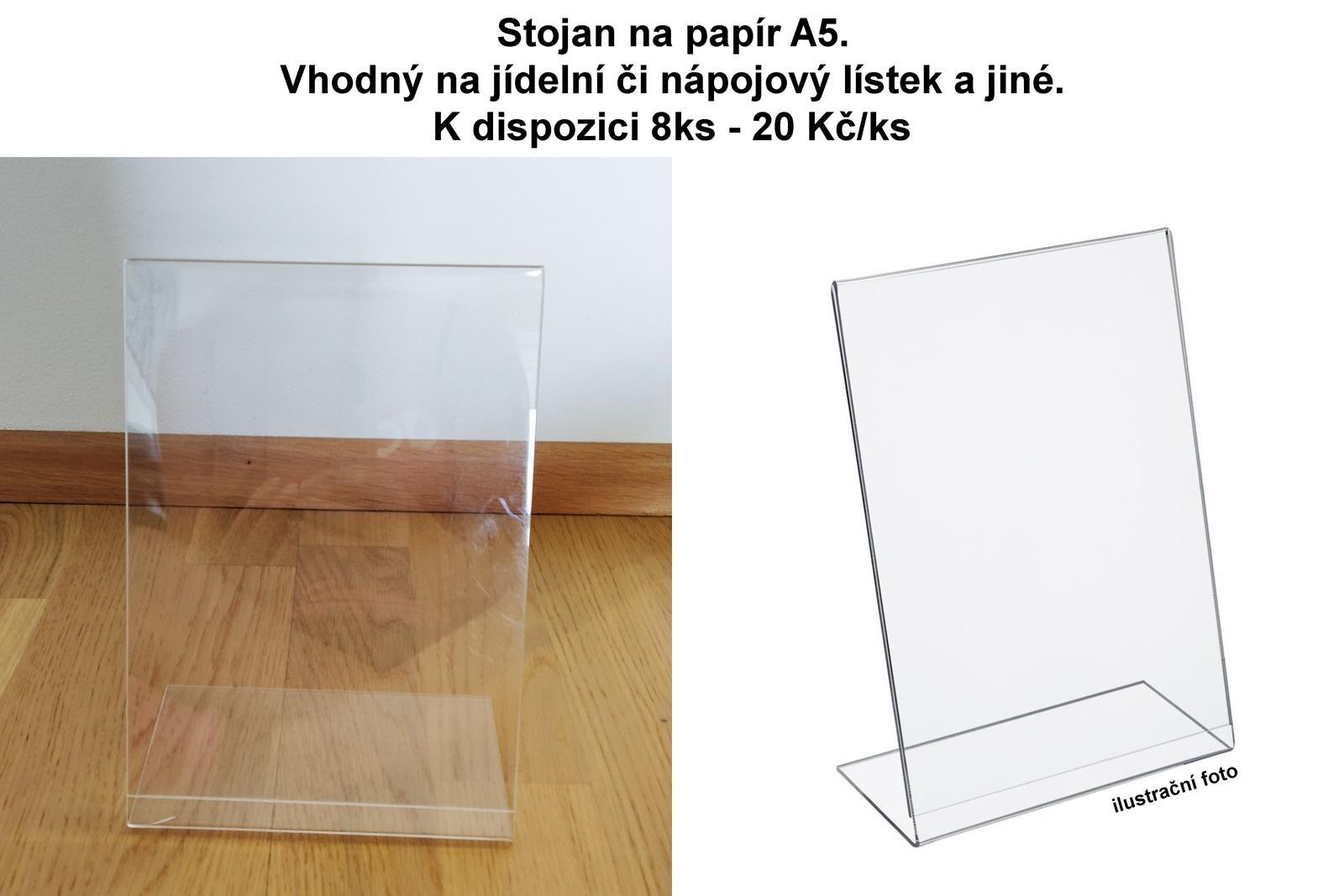 Stojan na papír - Obrázek č. 1