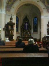 náš kostolík zvnútra