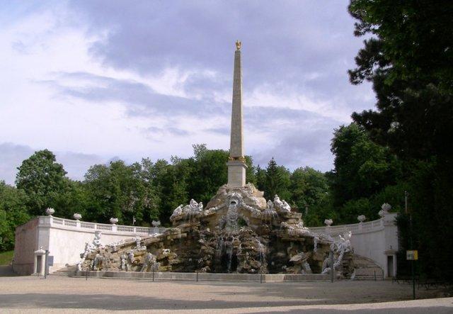 Z+M - pri tejto fontáne v Sissinom parku...
