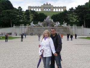 náš zásnubný deň - Viedeň, Schonbrunn