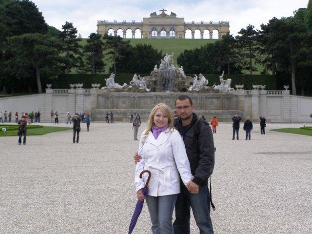 Z+M - náš zásnubný deň - Viedeň, Schonbrunn
