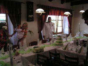 svatební tabule- vlastní výroba