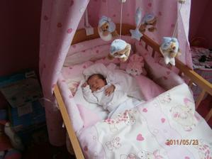 Natálka narodila se 18.5.2011