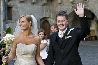 šťastní manželia :)