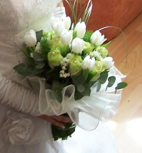 Aam - milujem biele tulipany...