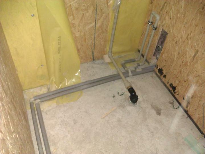 Naše dřevostavba - malá, ale milá :) - technická místnost, aneb mozek domu :)