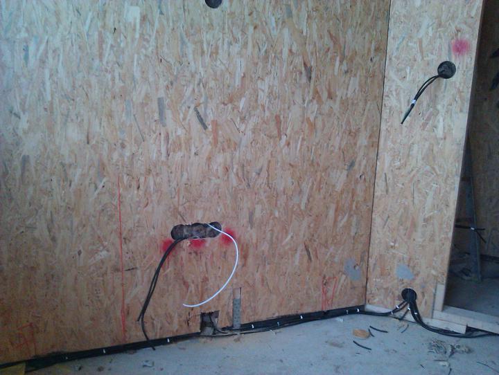 Naše dřevostavba - malá, ale milá :) - ložnice