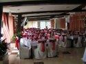 Svadobna hostina - zaujimavy styl sedenia