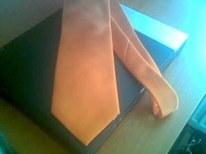 toto je prvá kravata môjho drahého