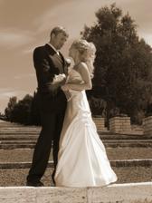 Naše prvé novomanželské foto