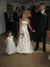 Ninka-naša krásna malá družička (na svadbe sme ich mali viac)