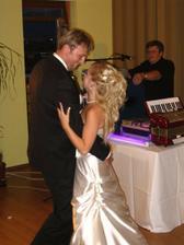 Náš prvý manželský taneček...
