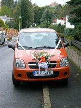 Autíčko pro nevěstu
