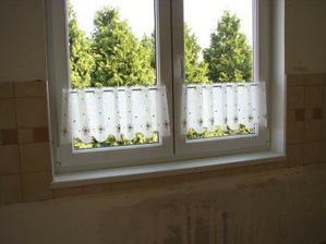 Okno v kuchyni.