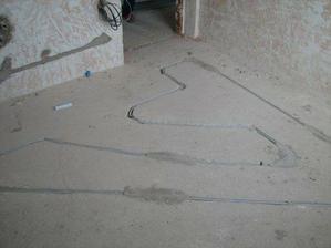 Podlaha v koupelně
