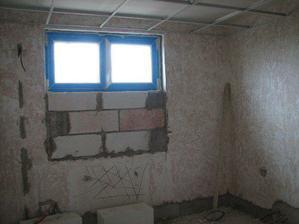 Koupelna - okno.