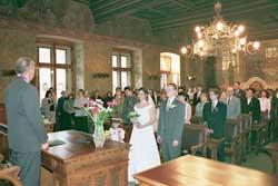 ..to je v obřadní síni, ale ještě ne na naší svatbě