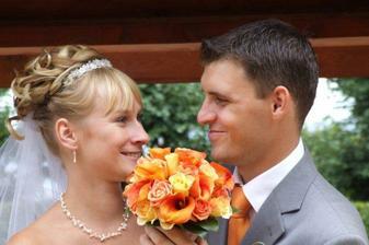 nevěsta Klárka, její svatba splňuje představu o té mé... díky Klárko