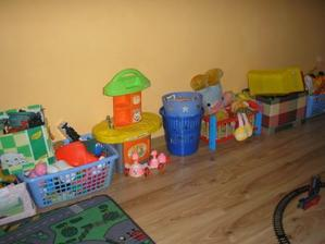 záplava hračiek