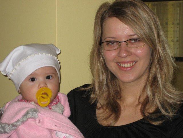 Silwietta - moja neterka a ja... bude z nej krasna druzicka, ze?